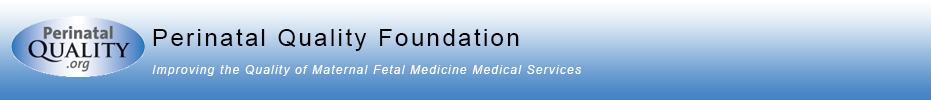 Perinatal Quality Foundation Banner